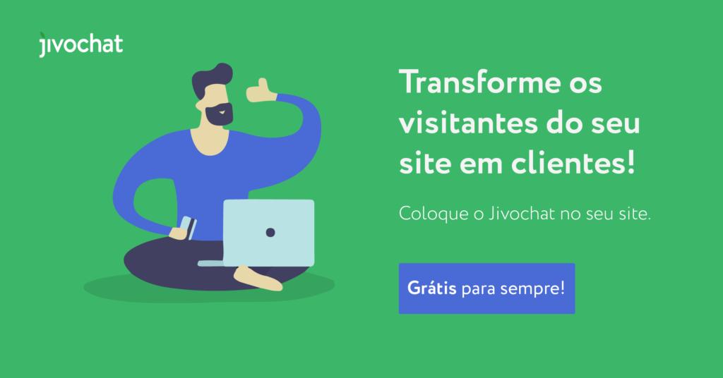 Transforme os visitantes do seu site em clientes